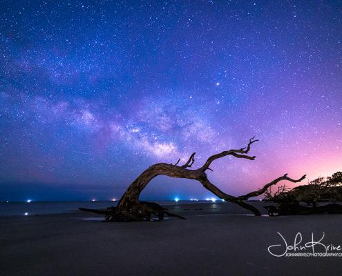 Milky Way Driftwood Beach Jekyll Island