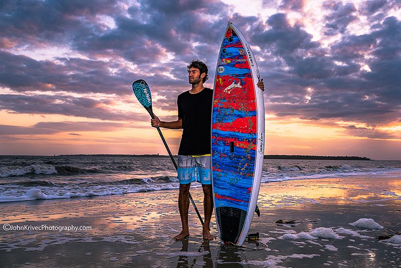 St Simons Beach Photography Portrait