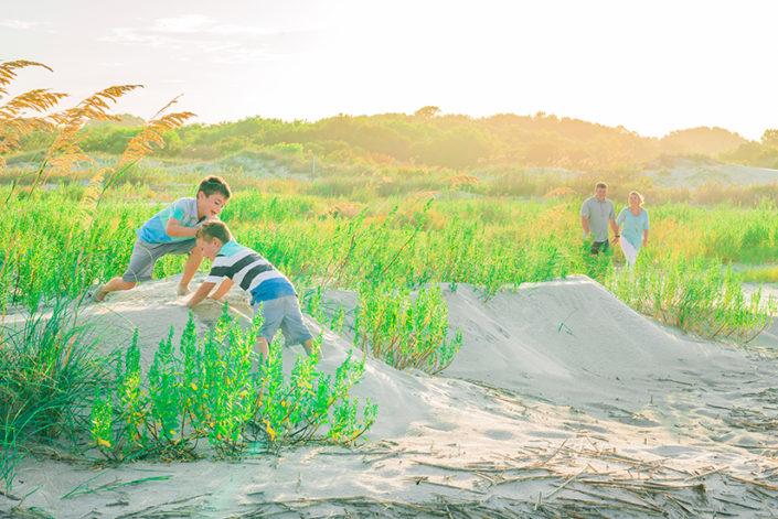 St Simons Beach Family Photography