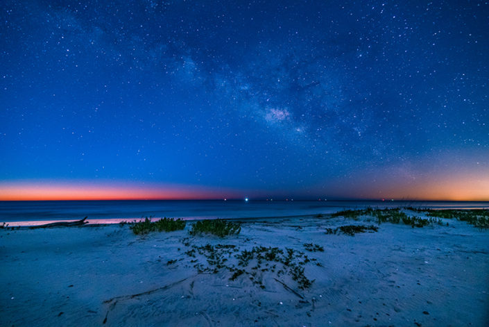 St Simons Island Beach Milky Way