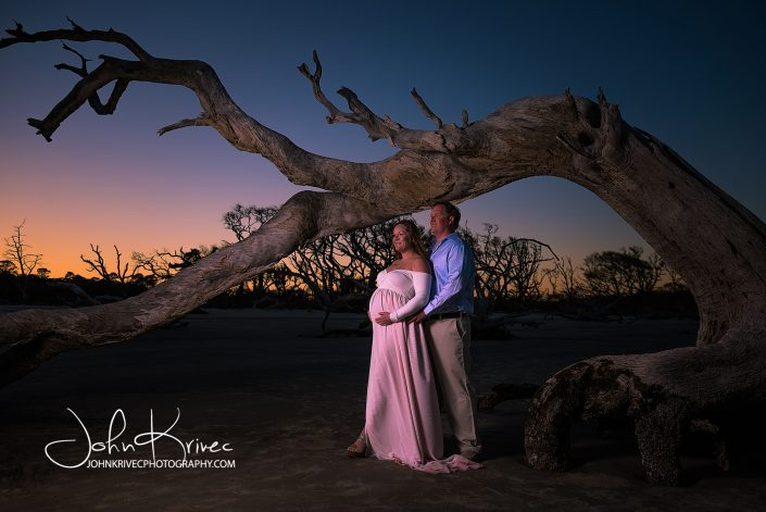 Maternity Photography Jekyll Island Georgia
