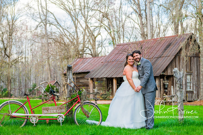 Southern Wedding at the Buie Barn, Brunswick GA
