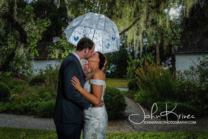 Wedding Photography Jekyll Island Rainy