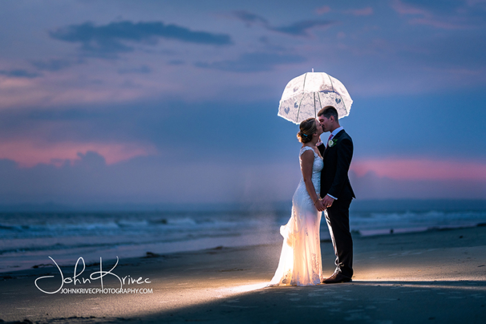 King and Prince Wedding, St Simons Island by John Krivec