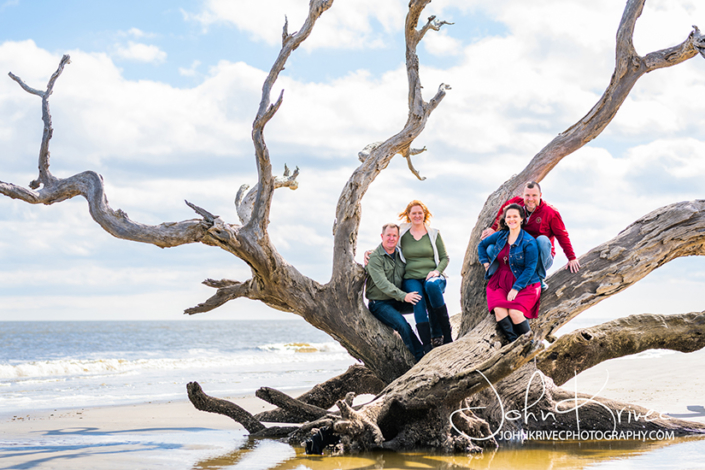 Jekyll Island Family Photography Driftwood Beach