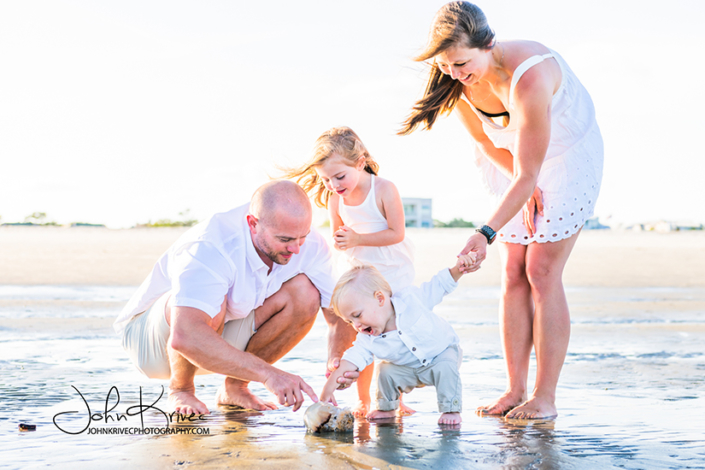 Jekyll Island Family Beach Photography
