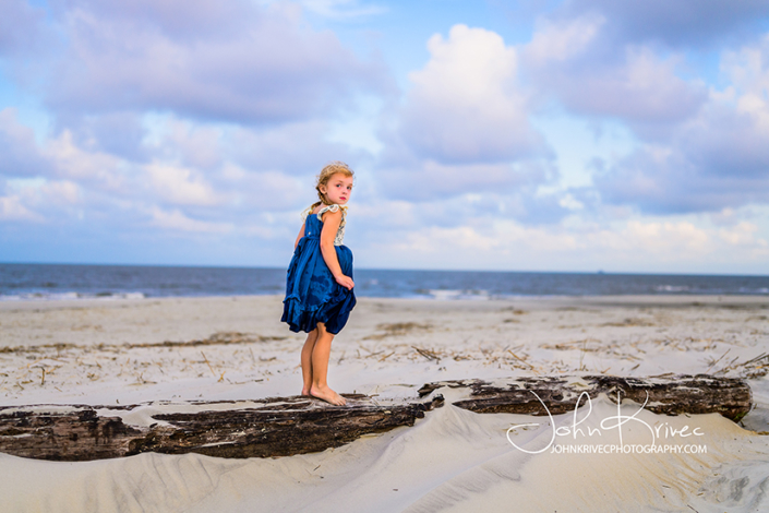 St Simons Family Beach Photography