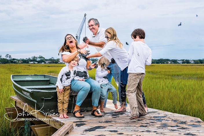 Creative Family Photographer St Simons